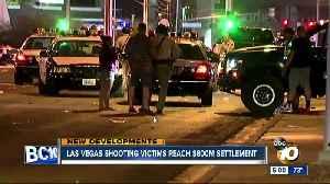 Las Vegas shooting victims reach settlement [Video]