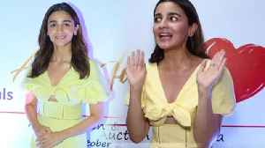 Alia Bhatt Angry On Paparazzi [Video]