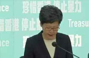 News video: Hong Kong leader invokes emergency powers to quell escalating violence