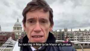 Rory Stewart to stand for London mayor as an independent candidate [Video]