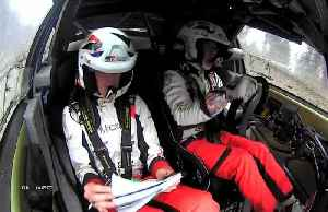 Meeke tops early time charts in Wales Rally [Video]