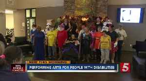 Performing arts class for adults with disabilities opens doors in rural community [Video]