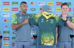 Australia to wear indigenous jersey against Uruguay [Video]