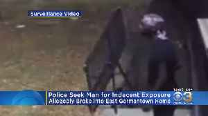 Man Wanted For Indecent Exposure, Attempted Burglary In East Germantown [Video]
