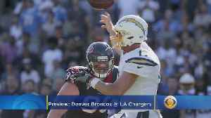 Broncos-Chargers Matchup: Veteran QB Battle Between Joe Flacco, Philip Rivers [Video]