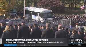 Funeral Held For NYPD Officer Brian Mulkeen, Killed In Line Of Duty [Video]