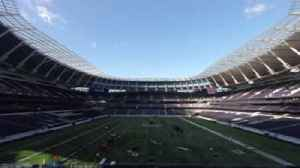 News video: Spurs stadium incredible NFL transformation