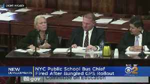 NYC Public School Bus Chief Fired After Bungled GPS Rollout [Video]