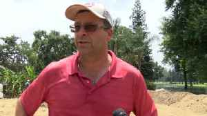 Kingsburg golf course floods, evacuation orders issued [Video]