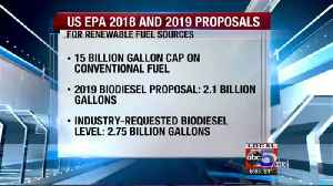 Iowa group urges EPA to increase renewable fuel standards [Video]