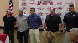 el paso baseball hall of fame media day [Video]