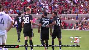 RSL loses to Manchester United, 2-1 [Video]