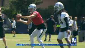 Day two of Raiders training camp in Napa [Video]