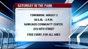 4th Annual Saturday in the Park [Video]