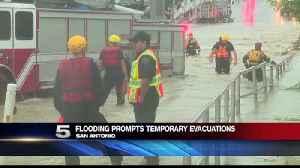 Flooding Prompts Temporary Evacuations in San Antonio [Video]