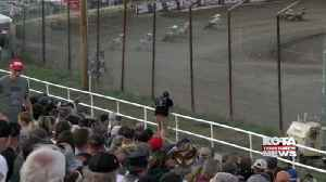 Pro flat track racing hits BH Speedway [Video]