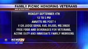 Family Picnic Honoring Veterans [Video]