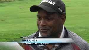 Raines returns to Cooperstown [Video]