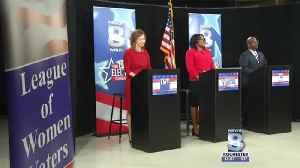 Democratic mayoral candidates debate [Video]