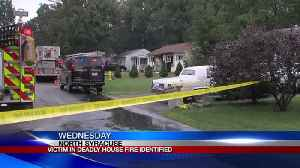Victim in deadly house fire identified [Video]