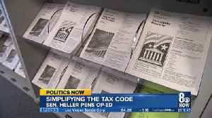 Heller and other lawmakers in DC cal for tax reform [Video]
