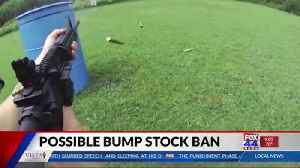 BUMP STOCK POSSIBLE BAN [Video]