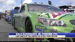 Dale Earnhardt Jr races at Talladega for the final time [Video]
