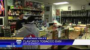 Oroville moves forward with flavored tobacco ban [Video]
