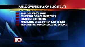 Public offers ideas for VCSC budget cuts, new revenue [Video]