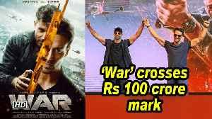 Hrithik, Tiger's 'War' crosses Rs 100 crore-mark [Video]