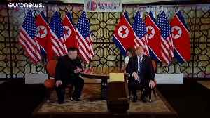 North Korea and US resume nuclear talks... in conference centre on outskirts of Stockholm [Video]