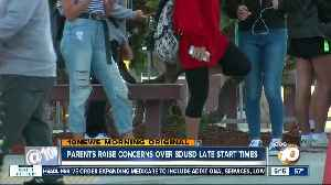 Parents raise concerns over SDUSD late start times [Video]