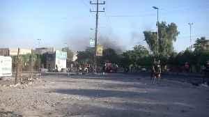 Baghdad lifts curfew as unrest death-toll soars [Video]