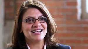 Rashida Tlaib, Activist, Attorney, and Congresswoman (D-MI) [Video]
