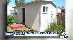North Park backyard 'shed' to be rented by next week [Video]