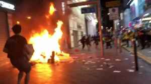News video: Protesters return after Hong Kong rioting