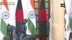 Bangladesh counterpart Sheikh Hasina meets PM Narendra Modi in Delhi [Video]