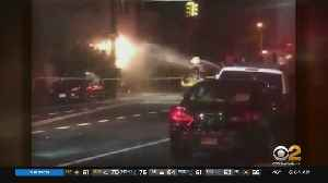 No Injuries After Manhole Fire In East Flatbush, Brooklyn [Video]