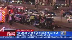 Fatal Crash On Dan Ryan Closes Northbound Lanes At 63rd Street [Video]