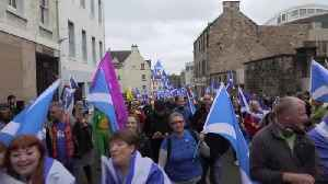 Thousands join pro-Scottish independence march through Edinburgh [Video]