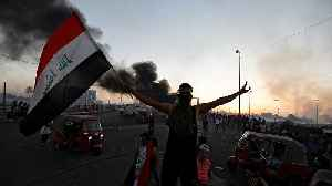 News video: Iraq protests: Five killed as security forces shoot anti-government demonstrators