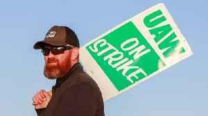 News video: UAW Strike: Talks Snag On Pensions, Hourly Wage