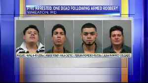 Five arrested, one dead following armed robbery [Video]