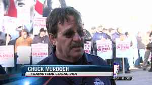 Teamsters Protest Bay Valley Foods [Video]