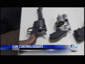 The gun control conversation comes to Eugene [Video]