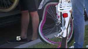 Edinburg Police: Cyclist at Fault in School Bus Accident [Video]