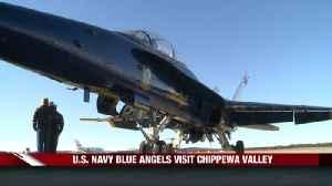 Blue Angels Visit [Video]