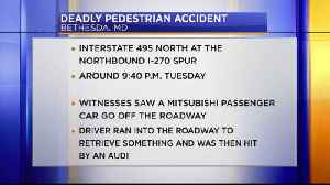 Deadly Bethesda accident [Video]