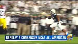Barkley named consensus All-American [Video]