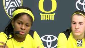 Web Extra: Sabrina Ionescu and Ruthy Hebard after Ole Miss [Video]
